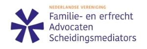 logo nederlandse vereniging familie- en erfrecht advocaten schedingsmediators